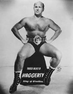"""""""Hard Boiled"""" Haggerty, metade do primeiro tag-team campeão do mundo"""