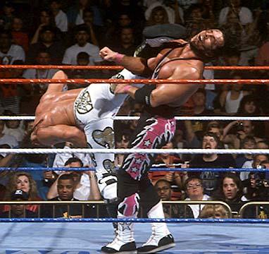 Shawn Michaels vs. Bret Hart: dois exímios lutadores que davam show no ringue
