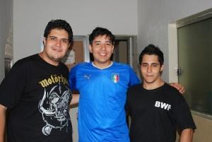Marcos Amaral, Jack e Igor Lopes